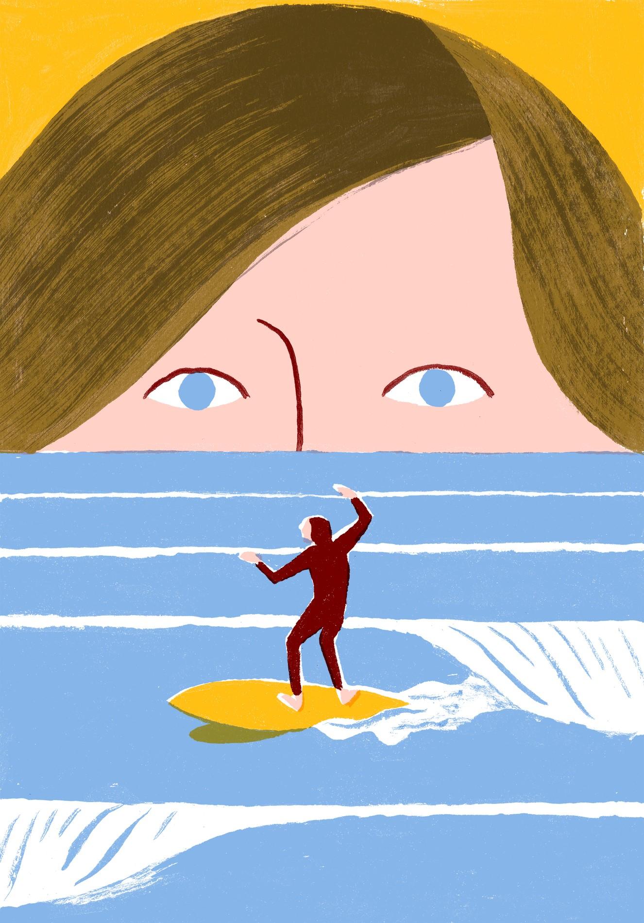 Illustration Surf